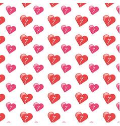 human heart symbol vector image