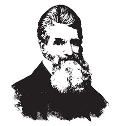 John brown vintage vector