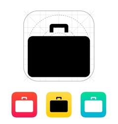 Case icon vector