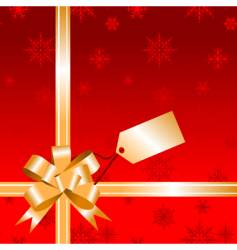 Christmas wrapping for your design vector