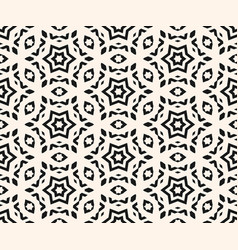 ornamental seamless pattern lines stars vector image vector image