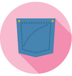 Pocket square vector