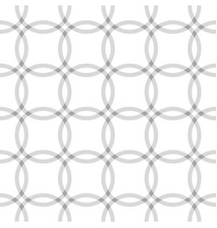repeating geometric circle seamless pattern vector image