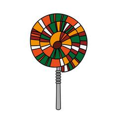 spiral lollipop icon image vector image vector image