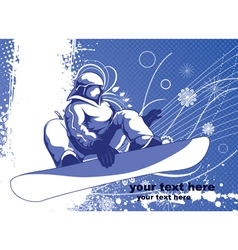 winter sports vector image vector image