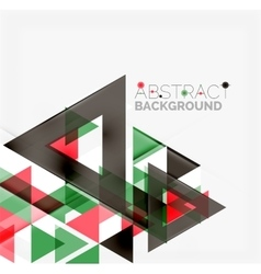 Abstract geometric background modern overlapping vector