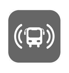 bus wi-fi icon vector image vector image