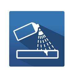 Capillary control icon vector