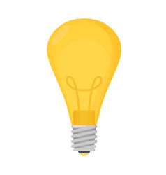 Lightbulb isolated icon pictogram eps 10 vector