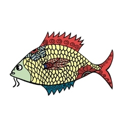 stylized Fish vector image vector image