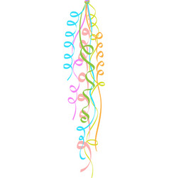 Bunch of colorful ballons vector image