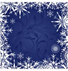 frosty patterns vector image vector image