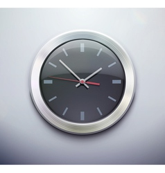 office clock vector image vector image