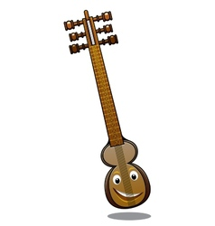 Turkish musical instrument kemenche vector