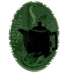 tea concept design vector image