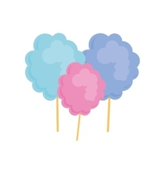Cotton candy icon image vector