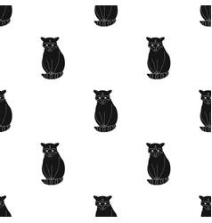 Raccoonanimals single icon in black style vector