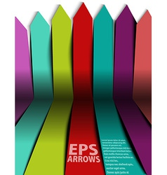 Paper arrows vector
