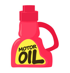 Motor oil icon cartoon style vector