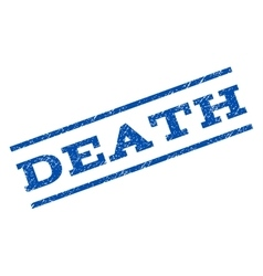 Death watermark stamp vector