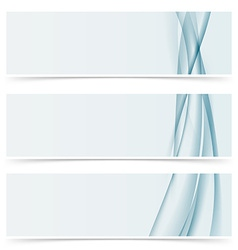 Abstract line horizontal modern header template vector