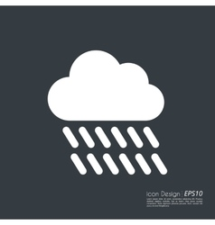 a cloud icon vector image