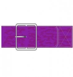 Belt vector