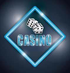 Casino gambling concept vector