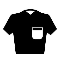 Men polo icon simple style vector