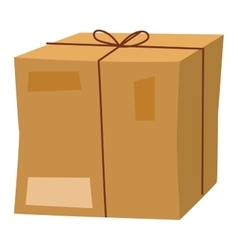 delivery box icon isolated vector image