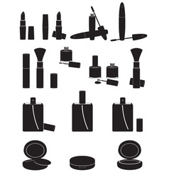 Set icons cosmetics 02 vector