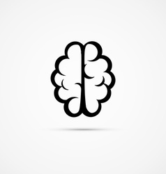 Brain icon pictogram vector