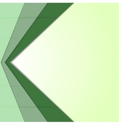 Abstract green corporate tech art vector