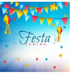 Festa junina festival party vector