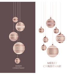 Luxury style bauble ornament vector