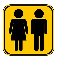 Male and Female button vector image vector image