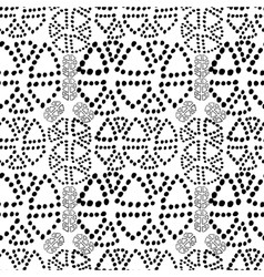 Seamless pattern with polka dot texture vector image