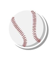 Baseball ball sport isolated icon vector
