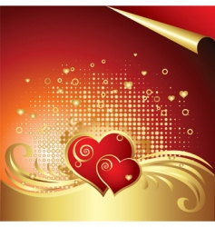 Valentines day background v vector