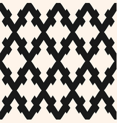 seamless pattern with rhombuses diagonal lattice vector image vector image