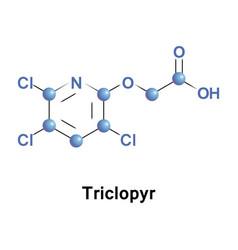 Triclopyr trichloropyridinyloxyacetic acid vector