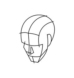 Wire head 380x400 vector