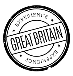 Great britain stamp vector