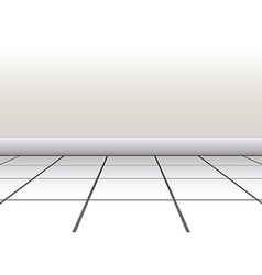 Tiled floor vector