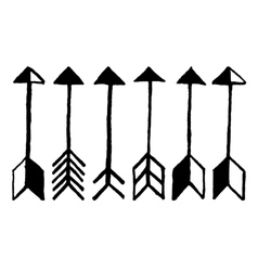 Cute arrows vector