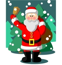 Santa claus color 05 vector