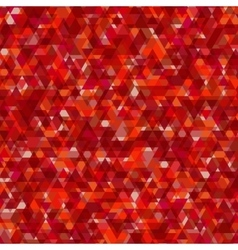 Abstract background with triangular pattern vector