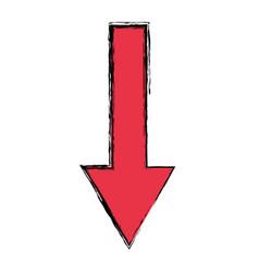 Arrow cursor symbol vector