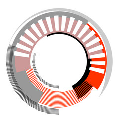 circle design element vector image vector image