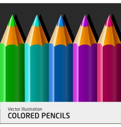 ColoredPencils06 vector image